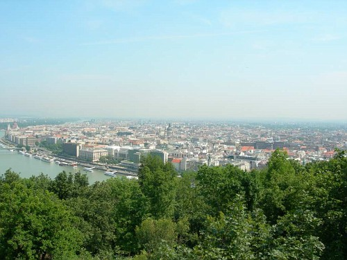 View from the Buda hills