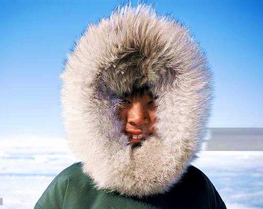 Boy in furs