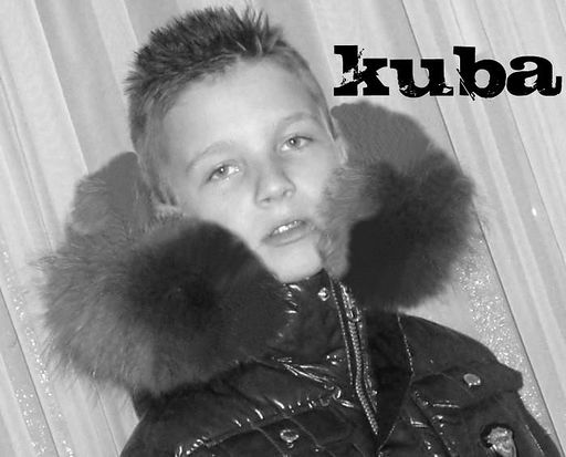 Boy and fur