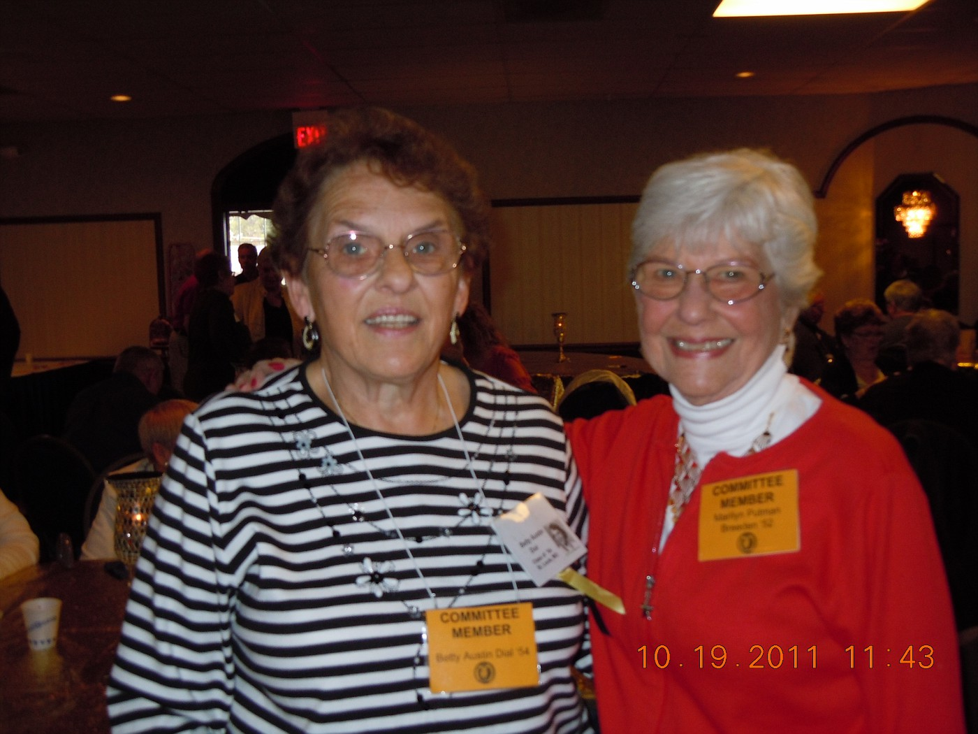 Betty Dial, Marilyn Breeden