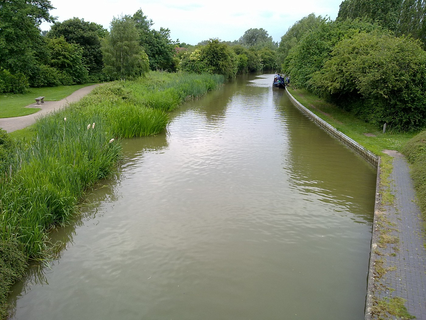 water canal we found quite close to the house