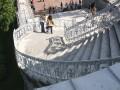 Спуск с Камероновой галереи - the Cameron Gallery staircase