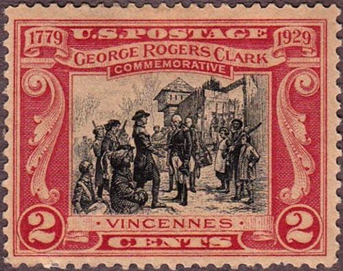 USA 1929 George Rogers Clark