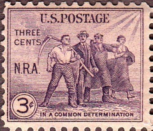 USA 1933 NRA