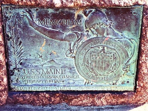 BRIDGEPORT - SEASIDE PARK - USS MAINE MEMORIAL