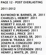 PAGE 12f - POST EVERLASTING - 2011-2012