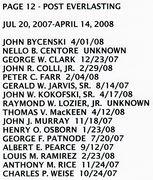 PAGE 12c - POST EVERLASTING - JUL 20, 2007-APR 14, 2008