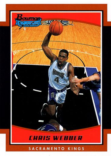 2002-03 Bowman Signature Chris Webber (1)