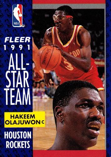 1991-92 Fleer #214 (1)
