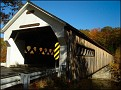 The first of the covered bridges in the Brattleboro area