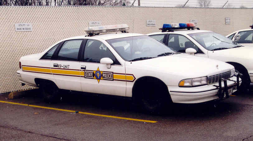 Il illinois state police 1991 caprice