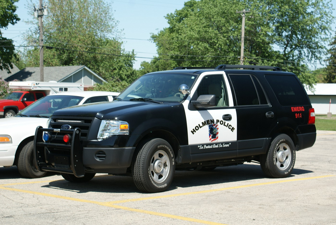 WI- Holmen Police 2008 Ford Expedition