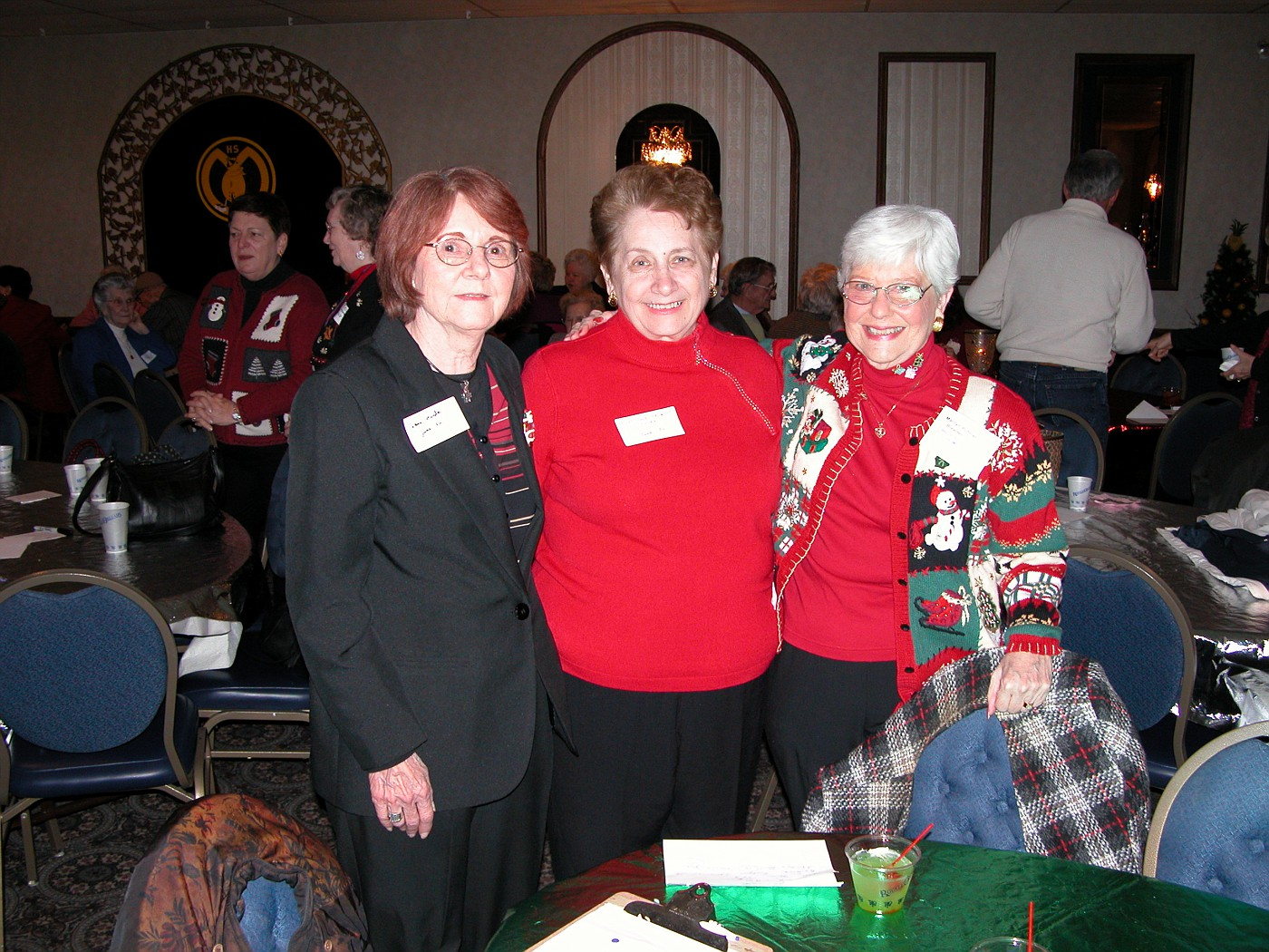 Jane Ponder, Mary Jane Caragher, Marilyn Breeden