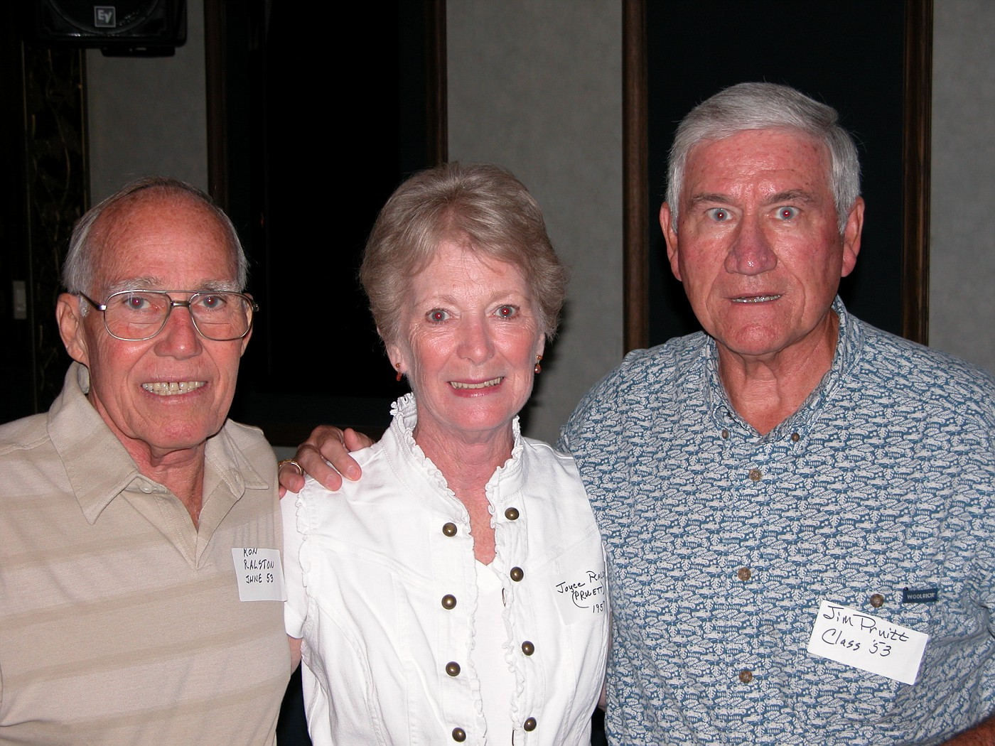 Ron & Joyce Ralston, Jim Pruitt