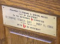 WATERBURY - SILAS BRONSON LIBRARY - OLYMPIC TORCH 1984 - 02