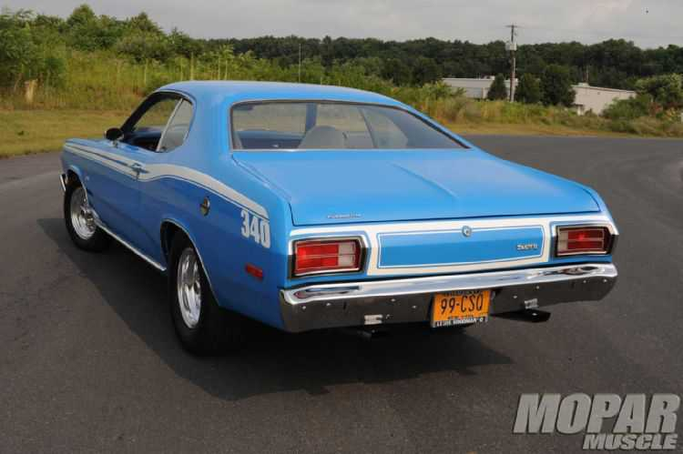 mopp 1012 05+1973 plymouth duster 340+
