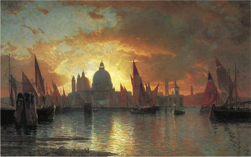 Santa Maria della Salute, Sunset [c.1870-85]