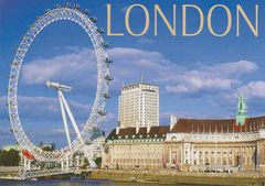 UK - London Eye (World's Tallest Observation Wheel)