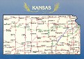 00- Map of KANSAS (KS)