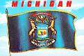 08- MI State Flag