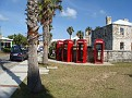 British Phonebooths near Bonefish Grill