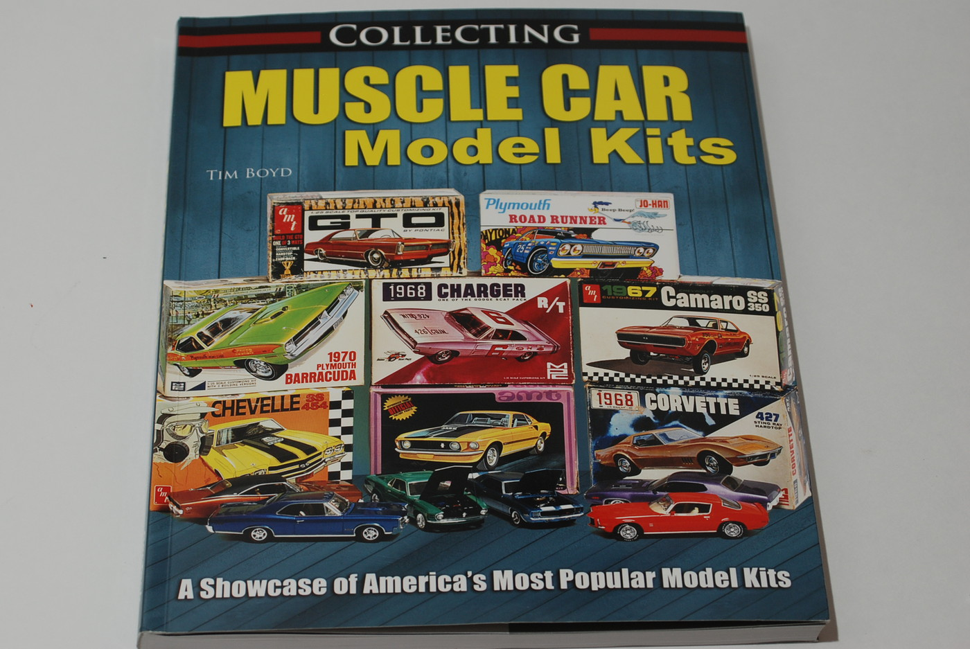 The Backstory Behind The New Book Collecting Muscle Car Model Kits