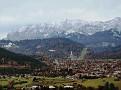 Blick auf Garmisch Partenkirchen