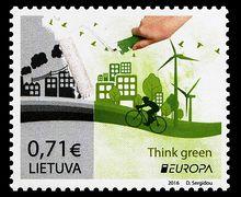 Pagalvokite žalia! - Think green!