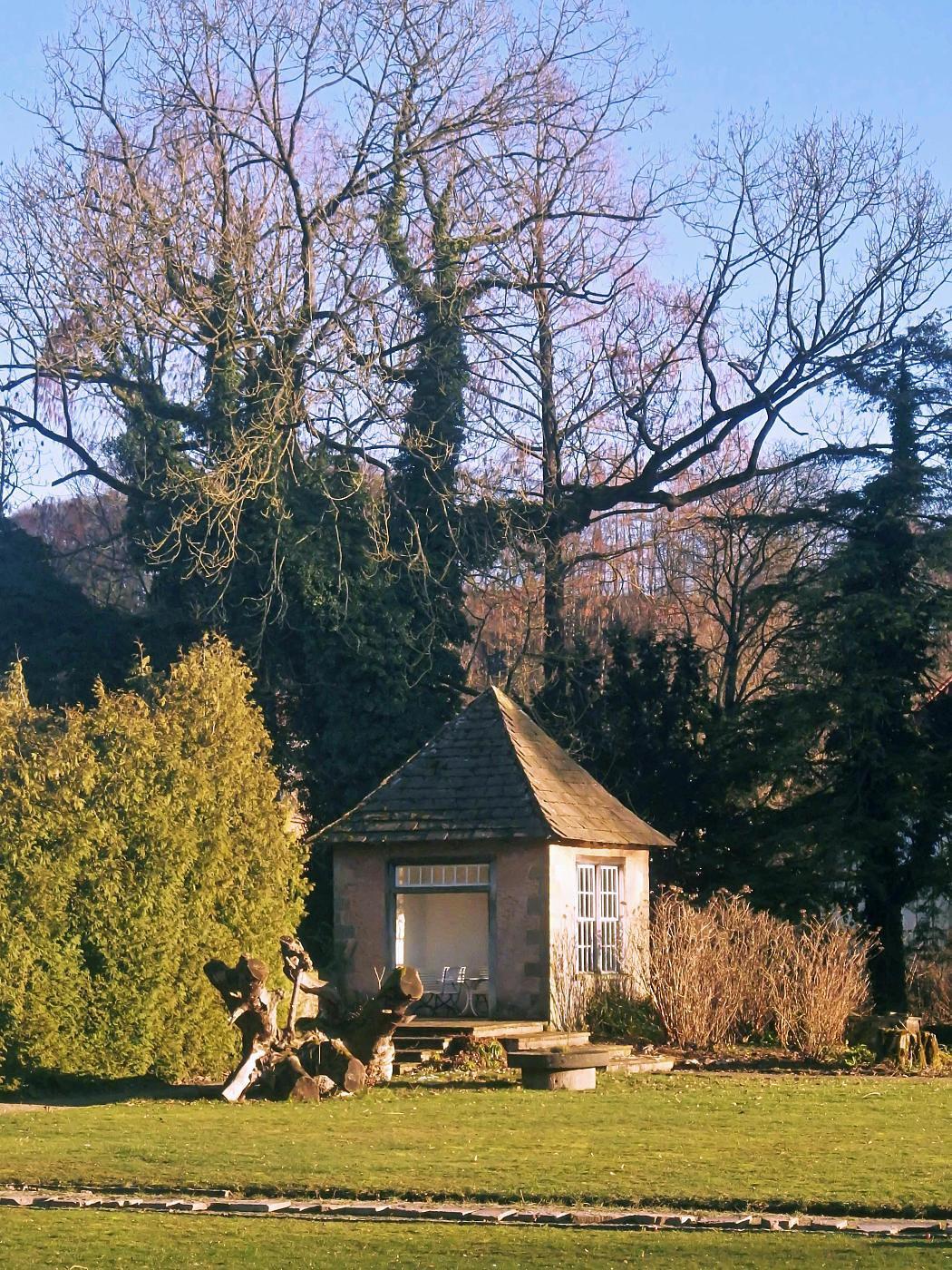 Gartenlaube Haus Merlsheim