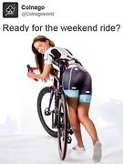 Ready for the weekend ride?