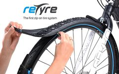 First zip-on tire system