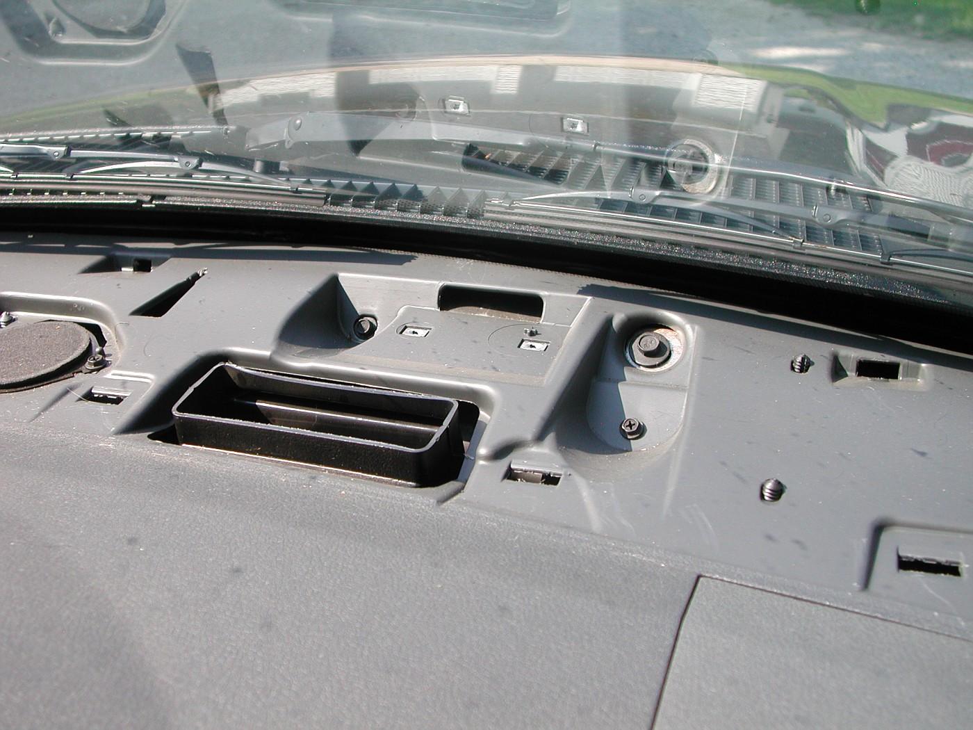 2007 Ram Navigation Radio Rec Installation Pics 2012 Dodge Antenna Diagram This Is The Spot On Dash Where Gps Mounts