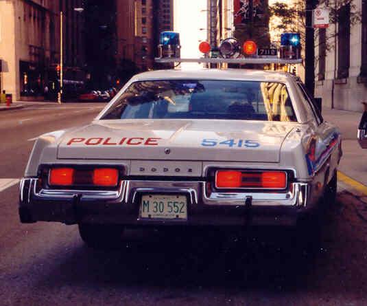 1977 Dodge Royal Monaco rear view