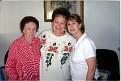 Mildred Hazel (FOUST) Lay, Pheba Jane (ELKINS) Hutson, and Linda Gail (LAY) Austin