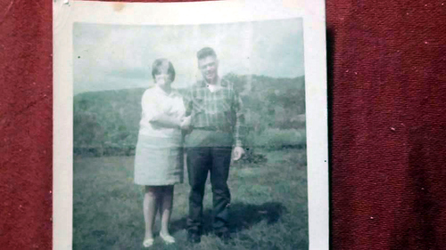 36-My mom Sonia Smithers and her uncle Clem Laxton.
