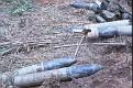 Captured munitions.