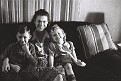 Eloise Kemp (sister of Conrad) with Wayne and Jeannie Bouck, 2nd view. Photo courtesy of the Pryor family.