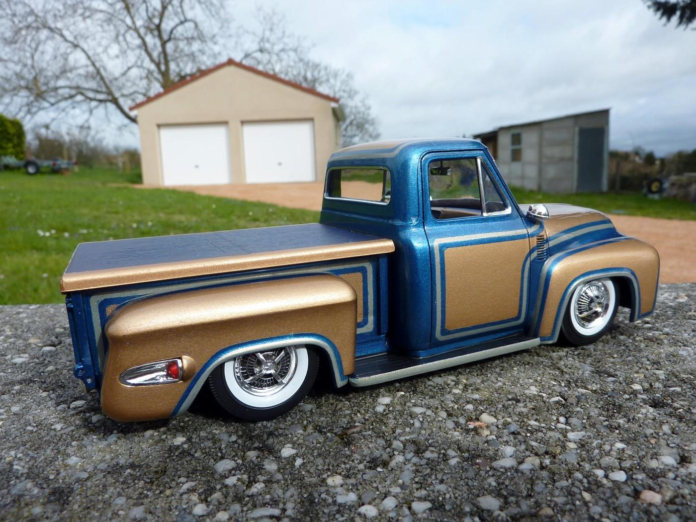 Dodge A 100 pickup avec remorque terminé Photo23-vi