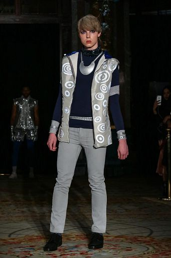 Rudy Wolf Show during OFS - Oxford Fashion Studio  shows at LeGrand hotel - October 05th 2018