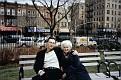 На Брайтон-Бич с матерью. Весна 2005 г.