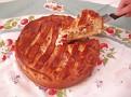 rhubarb cake (пирог с ревенем)