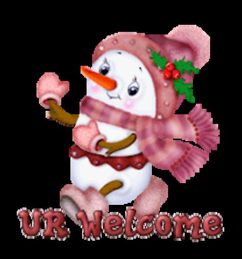 UR Welcome - CuteSnowman