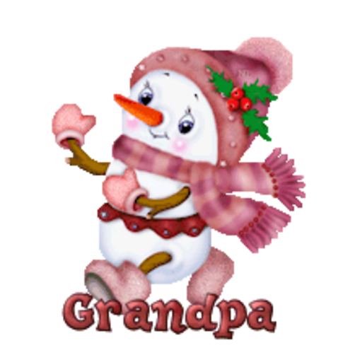 Grandpa - CuteSnowman