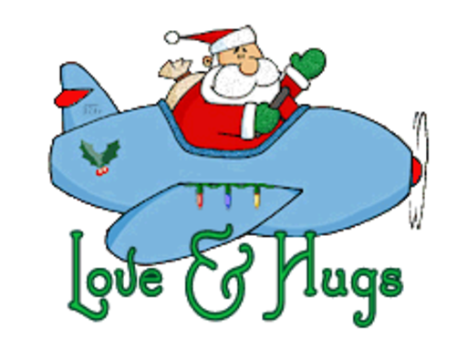 Love & Hugs - SantaPlane