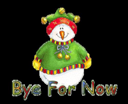 Bye For Now - ChristmasJugler