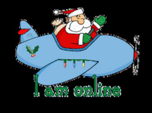 I am online - SantaPlane