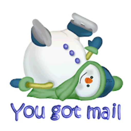 You got mail - CuteSnowman1318