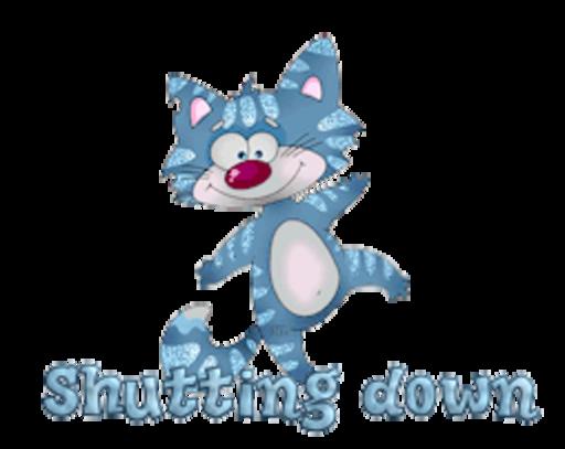 Shutting down - DancingCat