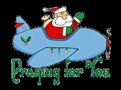 Praying for You - SantaPlane