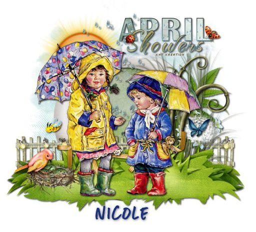 Nicole - KK april showers Nicole